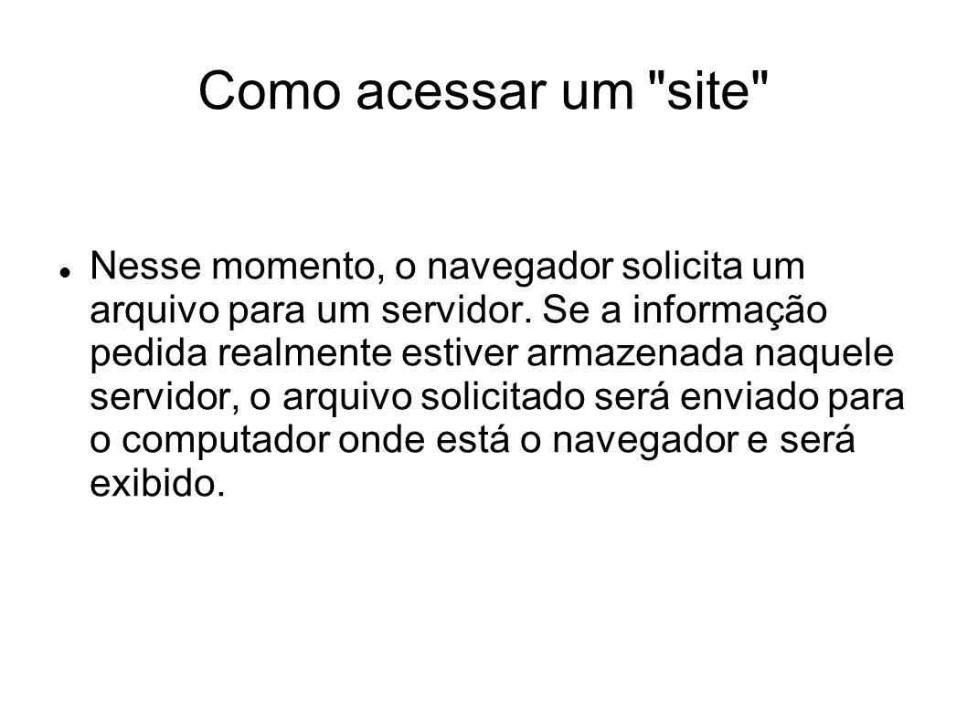 Como acessar um site