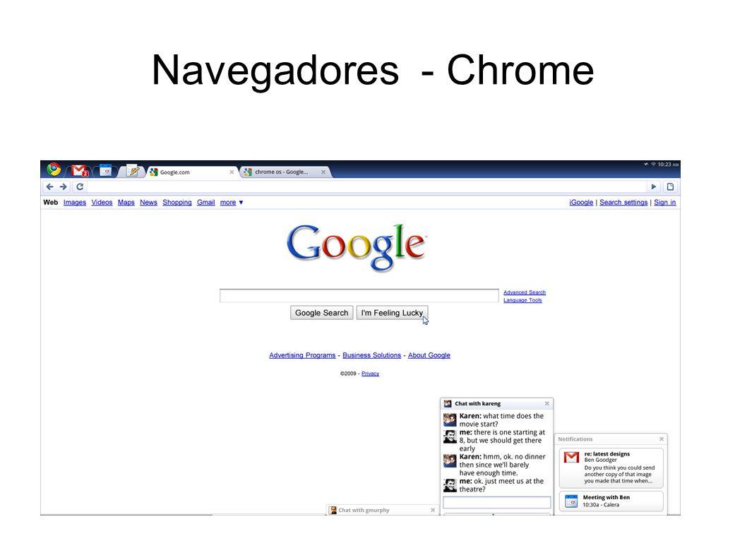 Navegadores - Chrome
