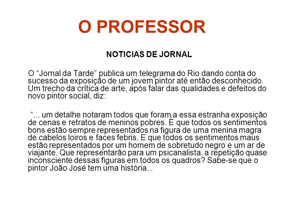 O PROFESSOR NOTICIAS DE JORNAL