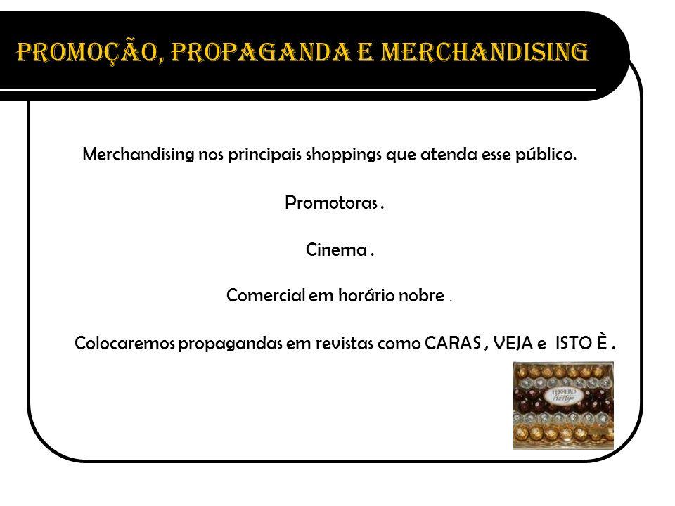 Promoção, Propaganda e Merchandising