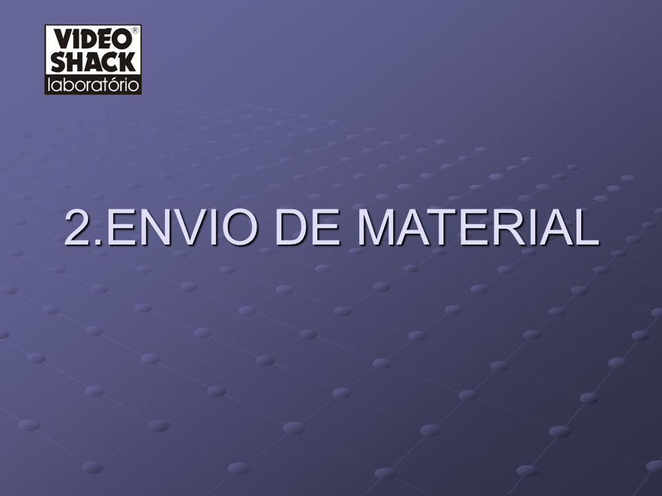 2.ENVIO DE MATERIAL