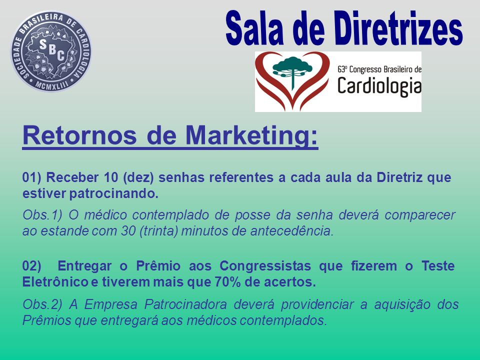 Retornos de Marketing: