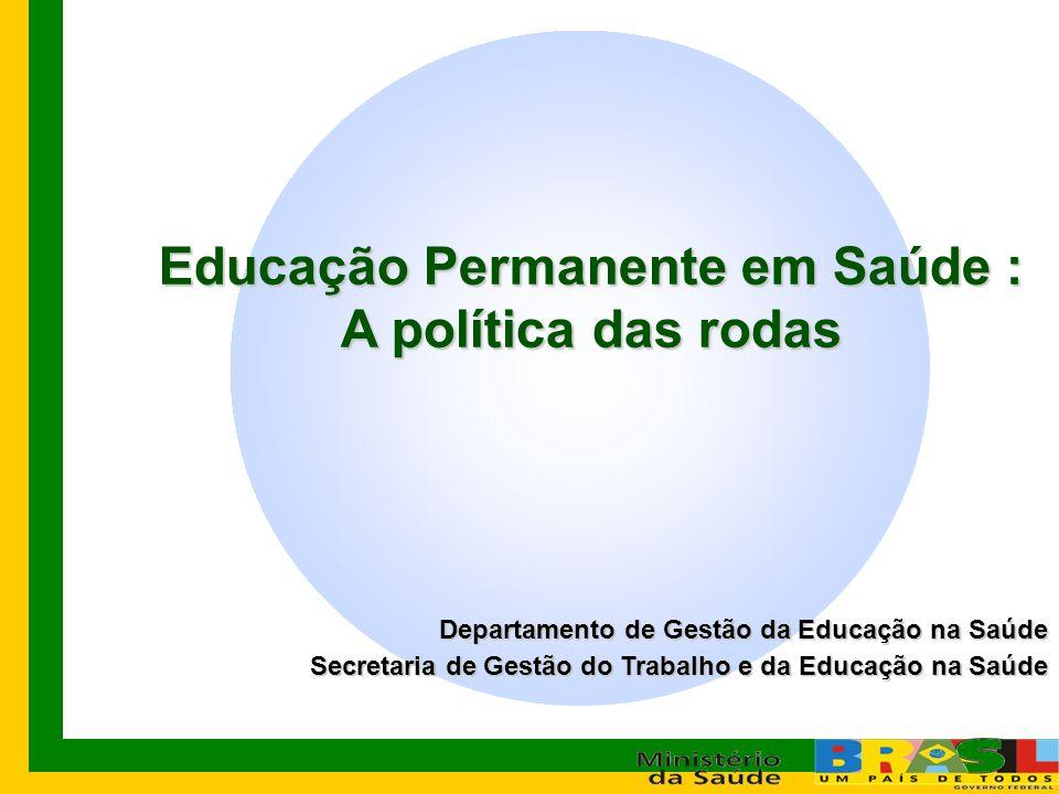 Educação Permanente em Saúde :