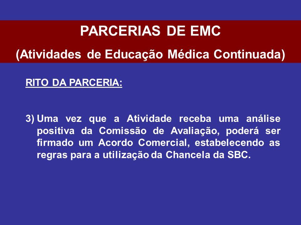 (Atividades de Educação Médica Continuada)