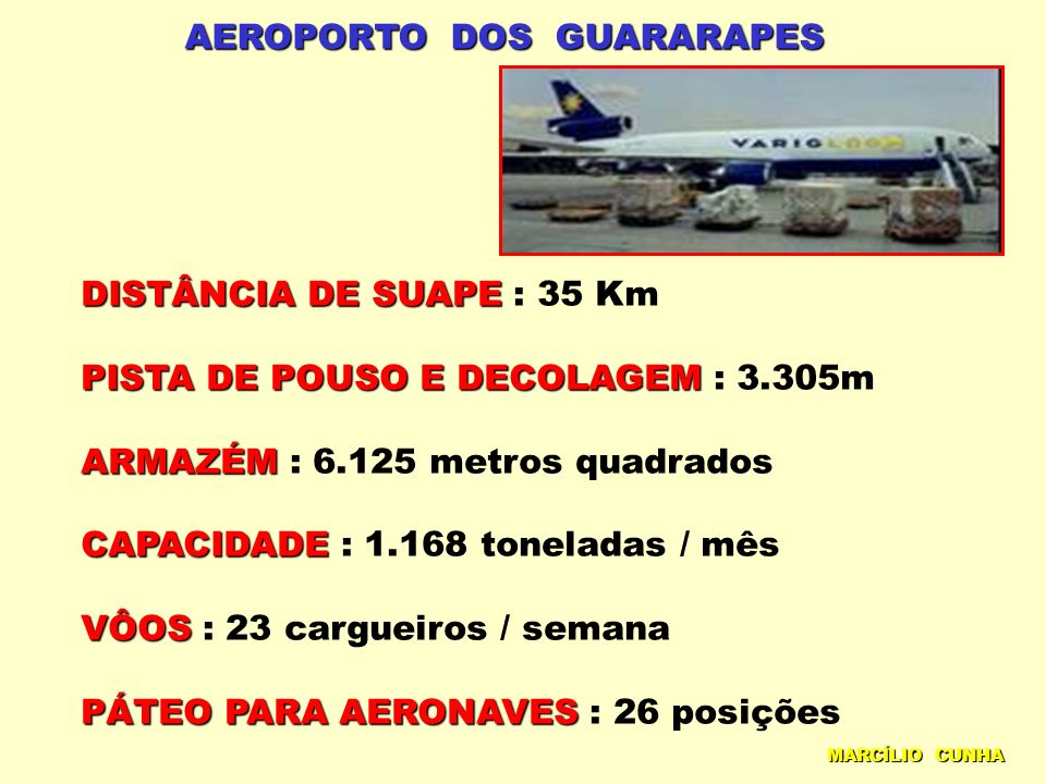AEROPORTO DOS GUARARAPES