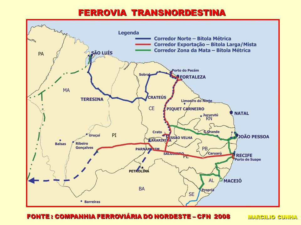 FERROVIA TRANSNORDESTINA