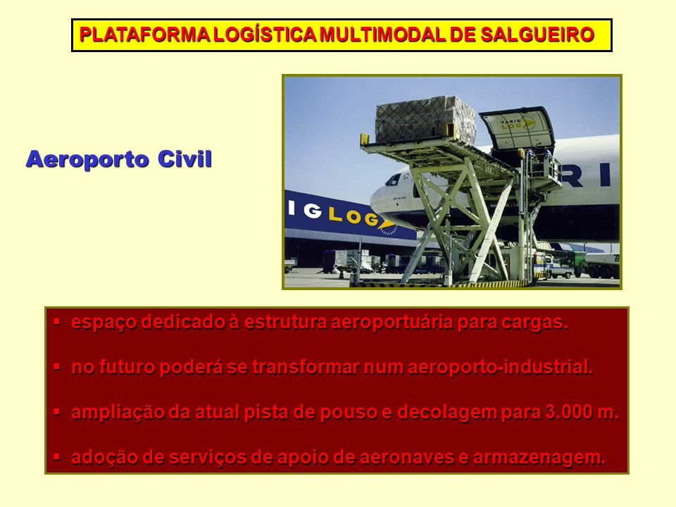 Aeroporto Civil PLATAFORMA LOGÍSTICA MULTIMODAL DE SALGUEIRO