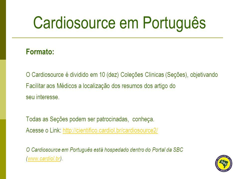 Cardiosource em Português