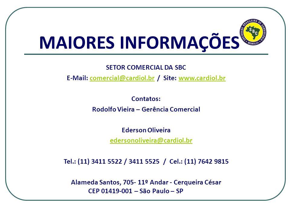 MAIORES INFORMAÇÕES SETOR COMERCIAL DA SBC