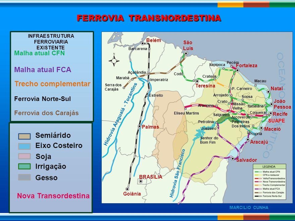 INFRAESTRUTURA FERROVIARIA