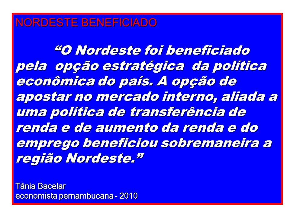 NORDESTE BENEFICIADO