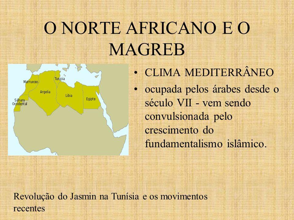 O NORTE AFRICANO E O MAGREB