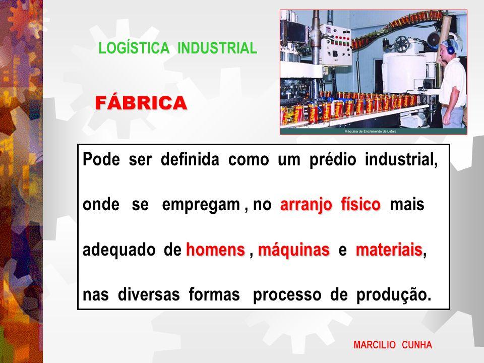 Pode ser definida como um prédio industrial,