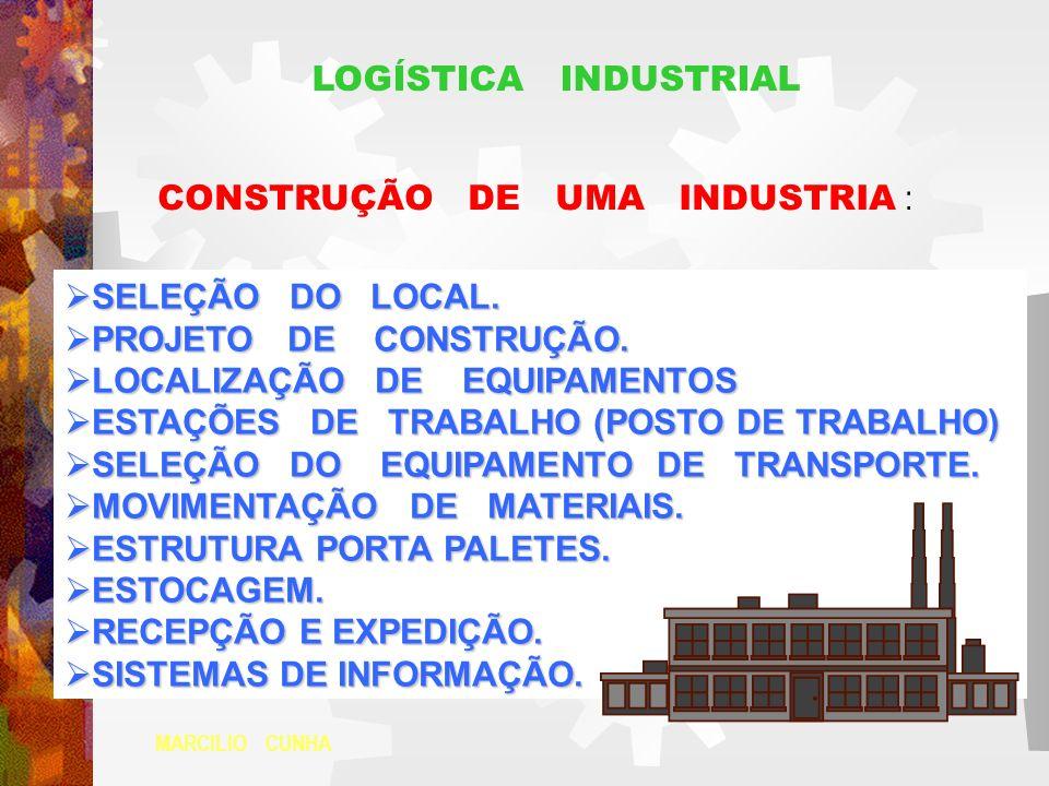 CONSTRUÇÃO DE UMA INDUSTRIA :