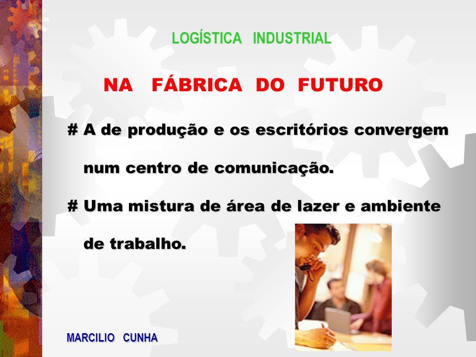 NA FÁBRICA DO FUTURO LOGÍSTICA INDUSTRIAL