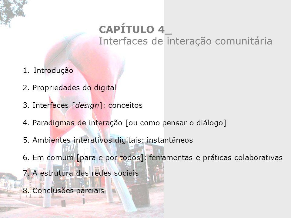 Interfaces de interação comunitária