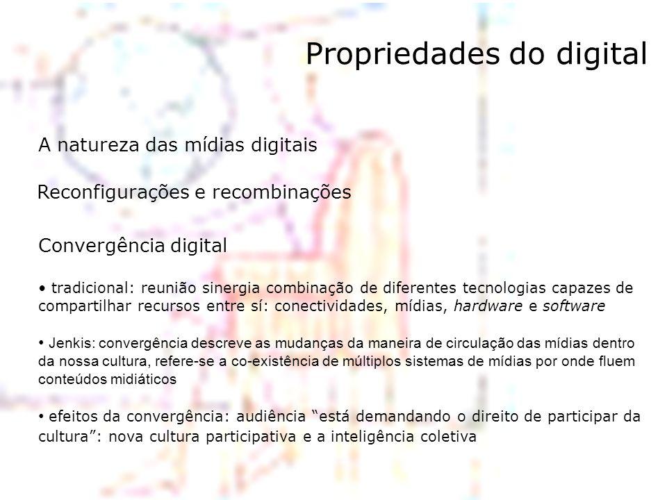 Propriedades do digital