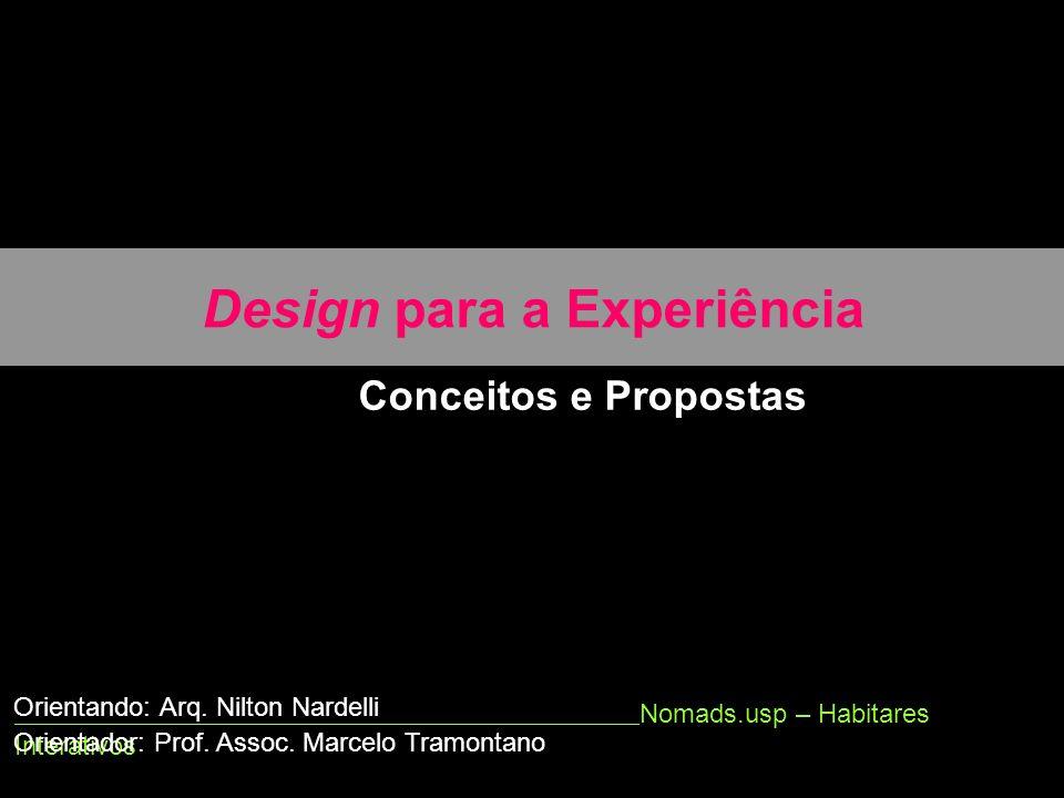Design para a Experiência
