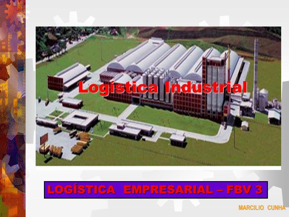 Logística Industrial LOGÍSTICA EMPRESARIAL – FBV 3 MARCILIO CUNHA