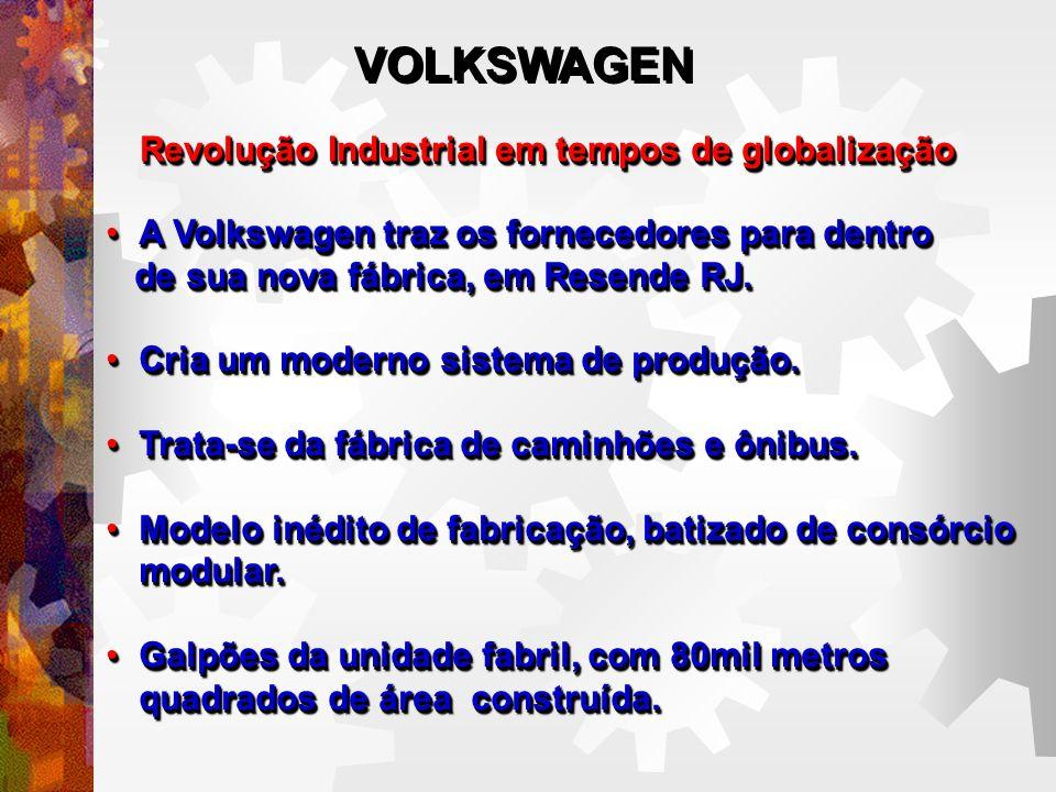 VOLKSWAGEN Revolução Industrial em tempos de globalização