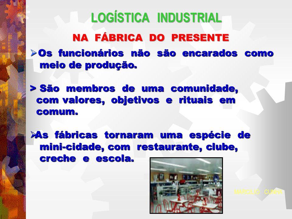LOGÍSTICA INDUSTRIAL NA FÁBRICA DO PRESENTE