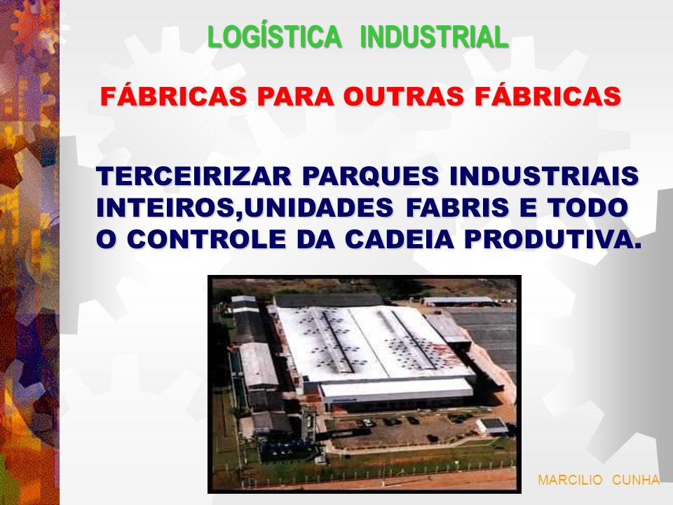 LOGÍSTICA INDUSTRIAL FÁBRICAS PARA OUTRAS FÁBRICAS