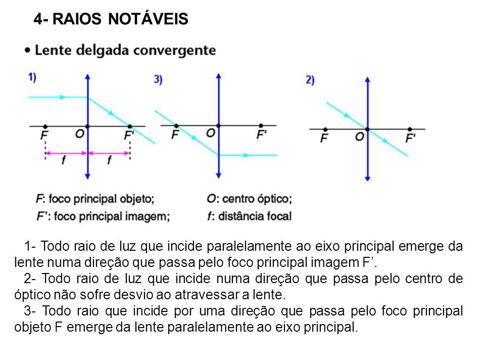 4- RAIOS NOTÁVEIS