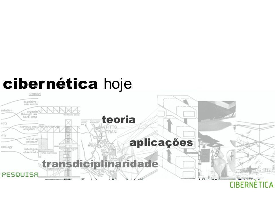 cibernética hoje teoria aplicações transdiciplinaridade