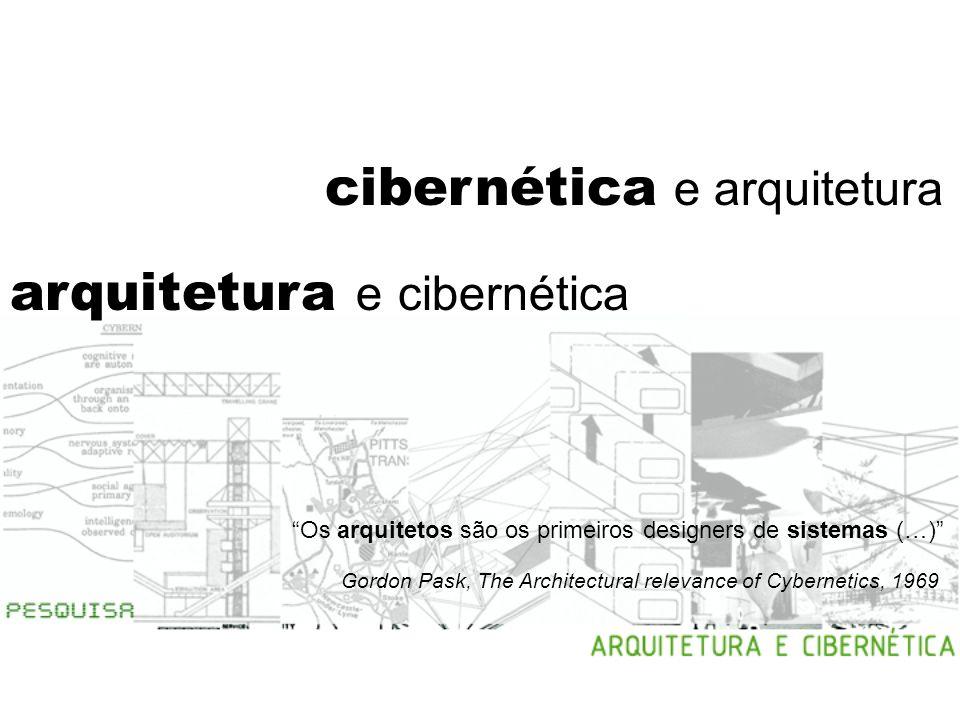 cibernética e arquitetura