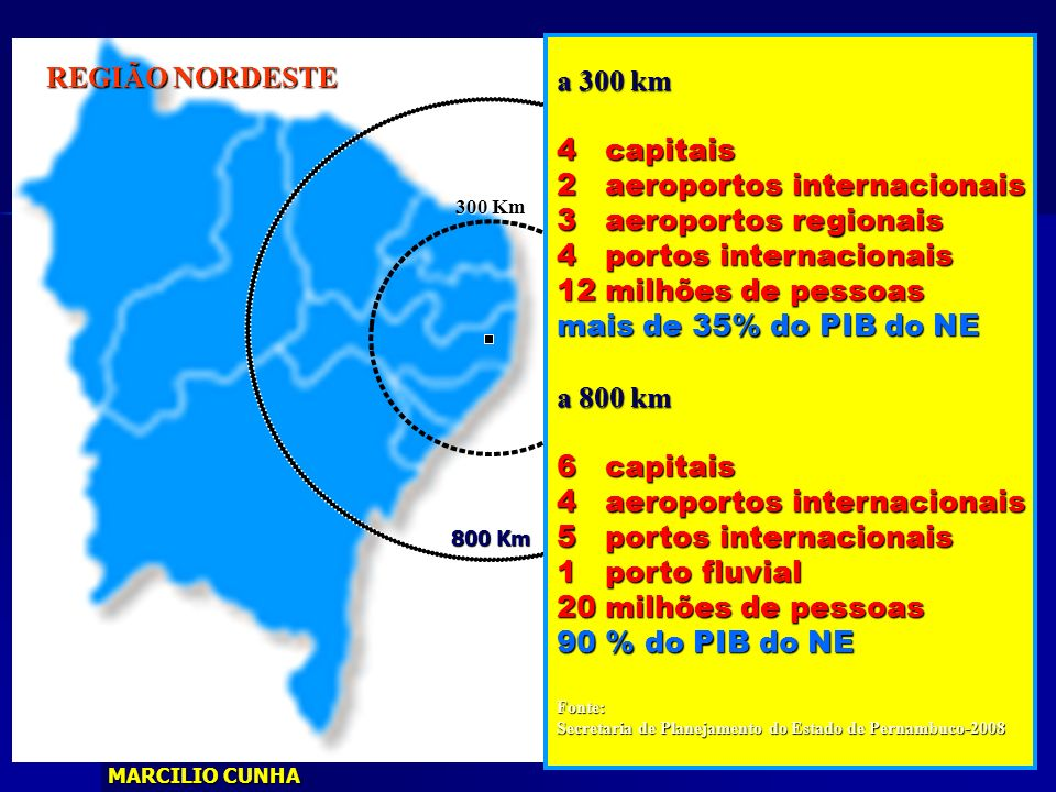 2 aeroportos internacionais 3 aeroportos regionais