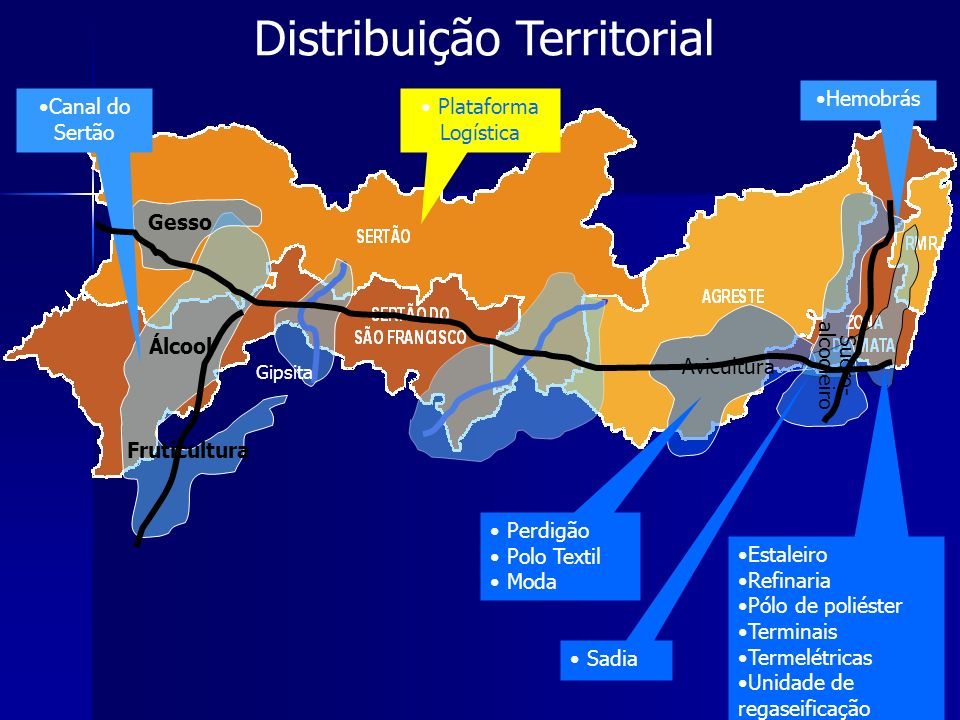 Distribuição Territorial