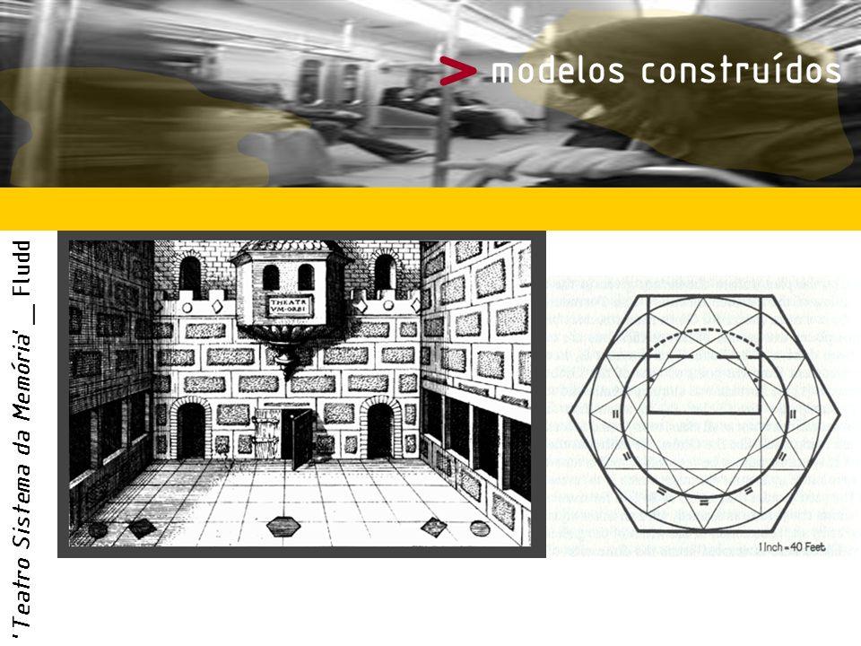 > modelos construídos 'Teatro Sistema da Memória' _ Fludd