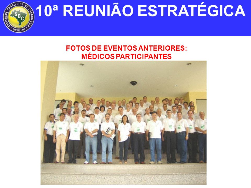 FOTOS DE EVENTOS ANTERIORES: MÉDICOS PARTICIPANTES