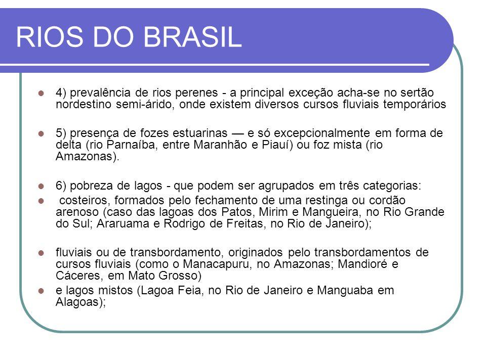 RIOS DO BRASIL