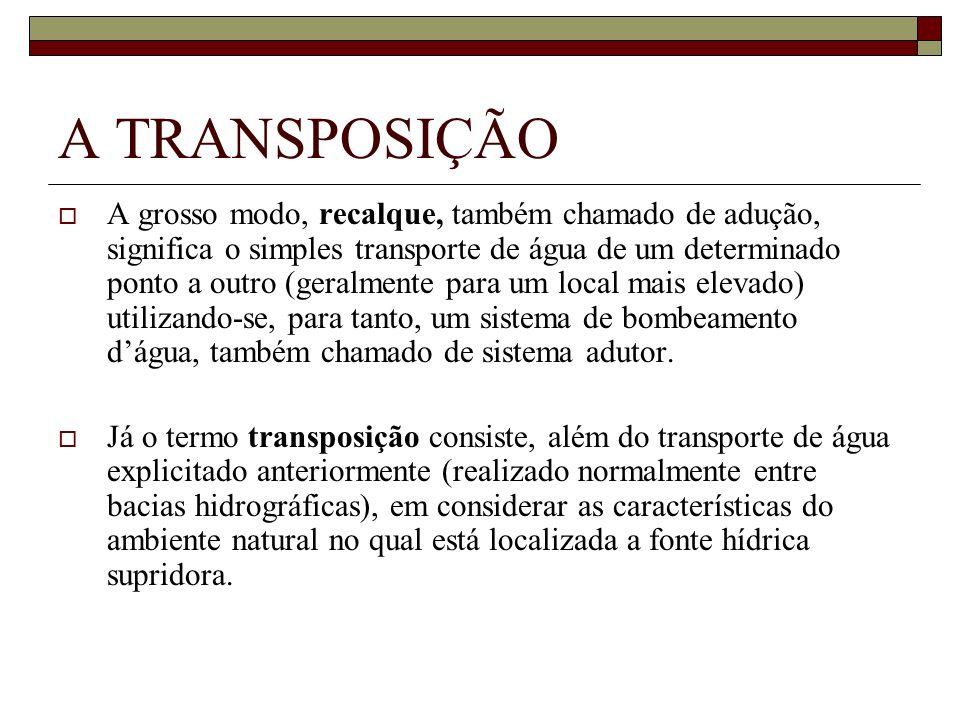 A TRANSPOSIÇÃO