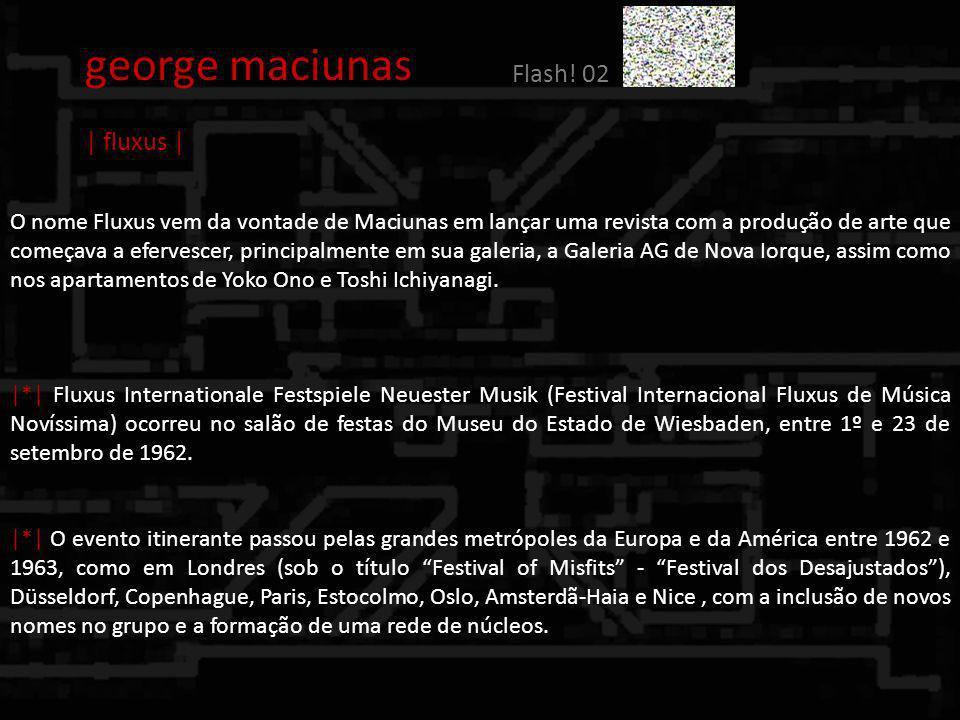 george maciunas Flash! 02 | fluxus |