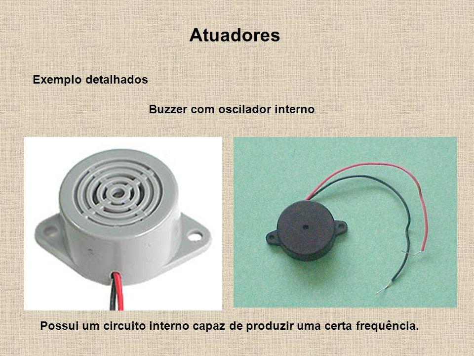 Buzzer com oscilador interno