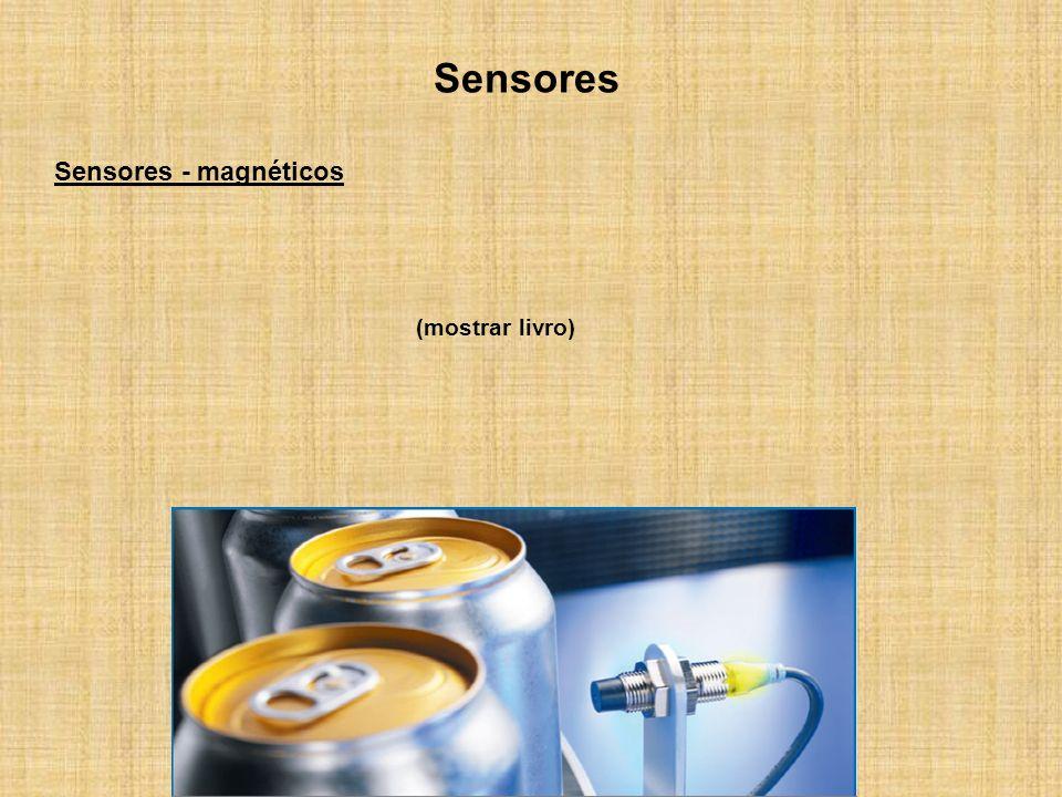 Sensores Sensores - magnéticos (mostrar livro)