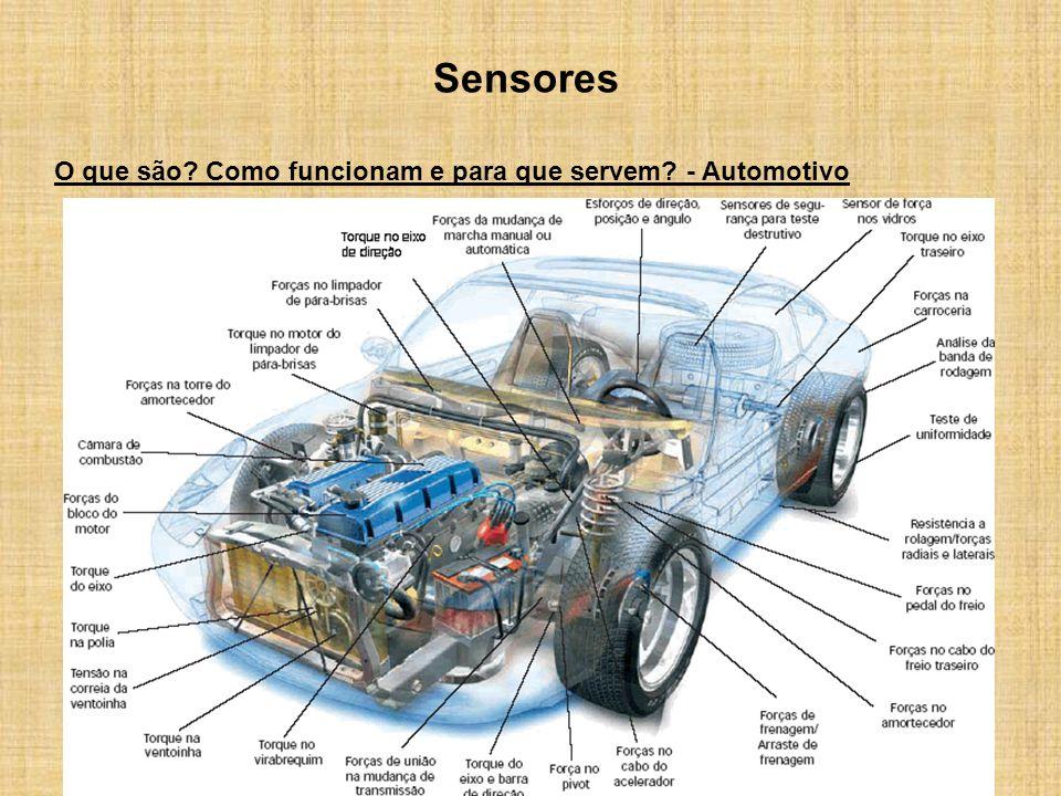 Sensores O que são Como funcionam e para que servem - Automotivo