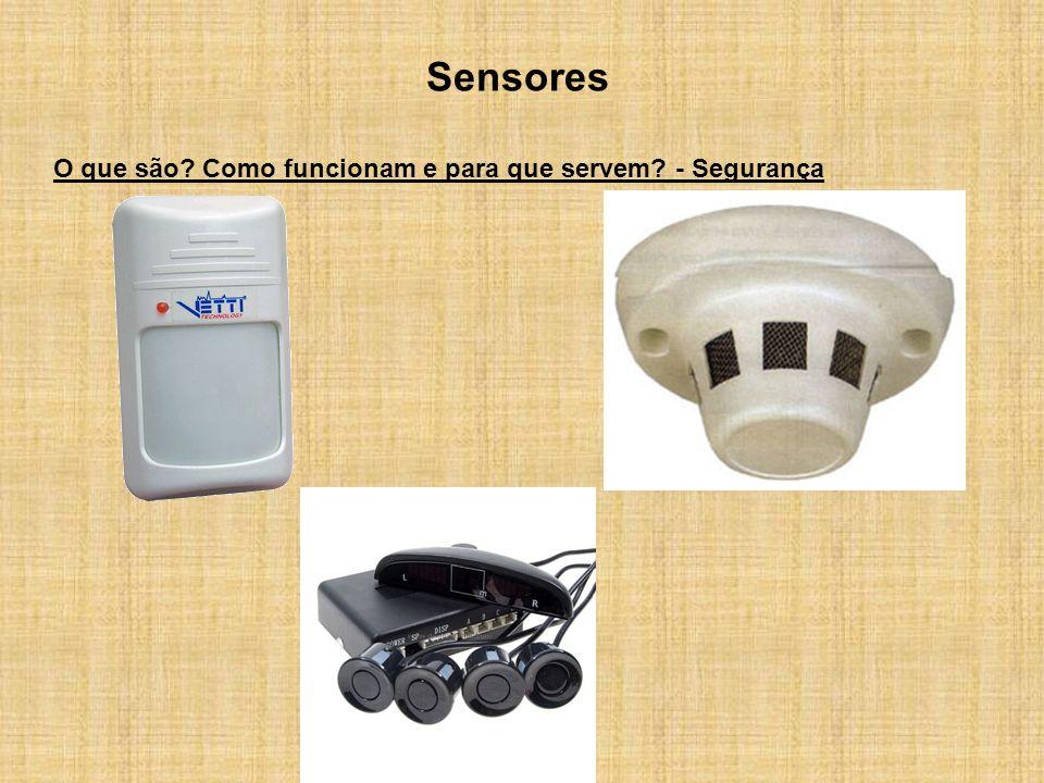 Sensores O que são Como funcionam e para que servem - Segurança