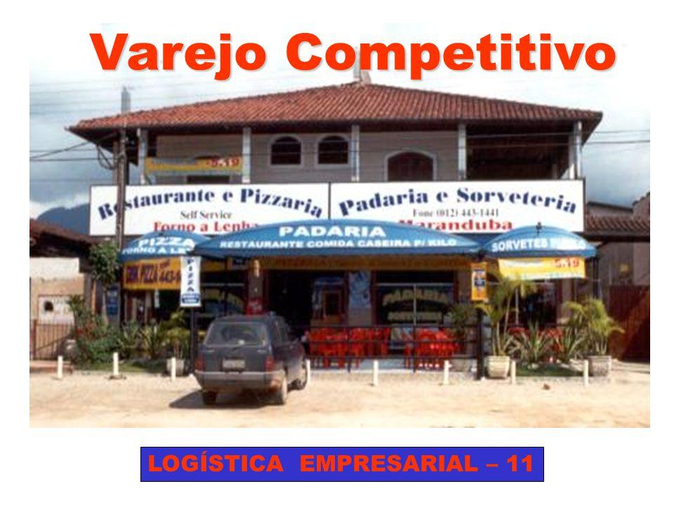 Varejo Competitivo LOGÍSTICA EMPRESARIAL – 11