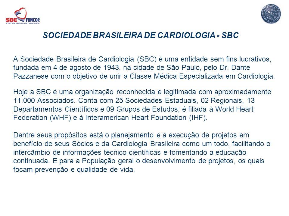 SOCIEDADE BRASILEIRA DE CARDIOLOGIA - SBC