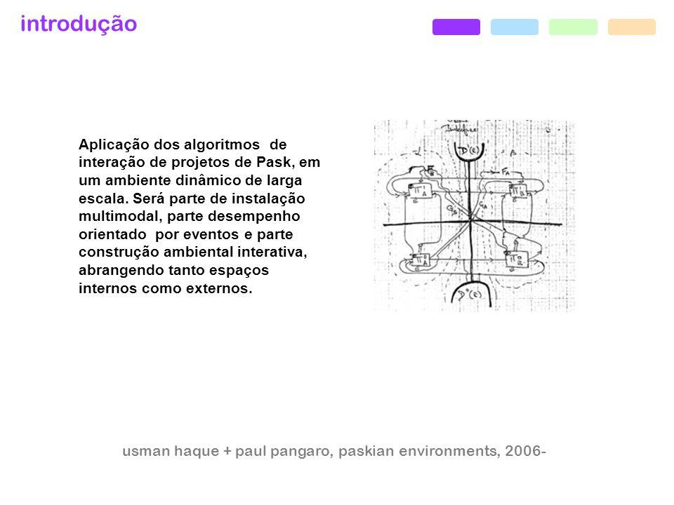usman haque + paul pangaro, paskian environments, 2006-