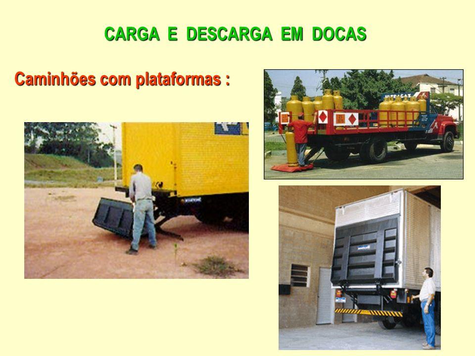 CARGA E DESCARGA EM DOCAS