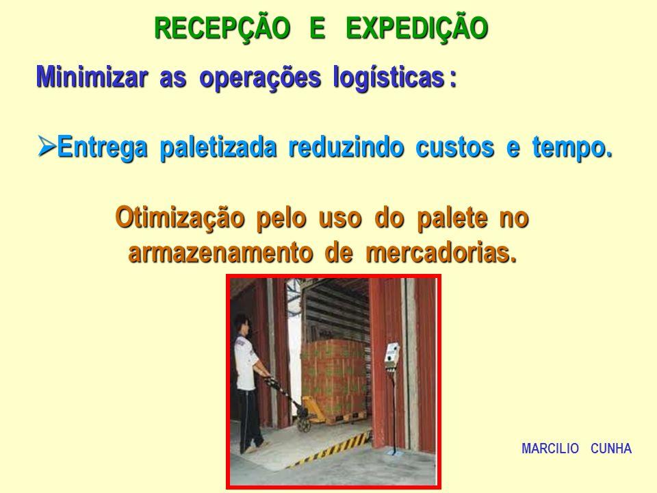 Minimizar as operações logísticas :
