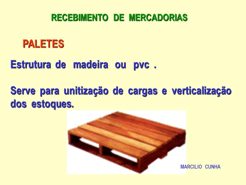 Estrutura de madeira ou pvc .