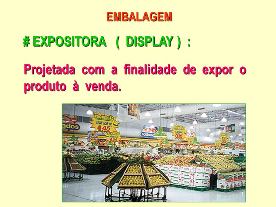 # EXPOSITORA ( DISPLAY ) :