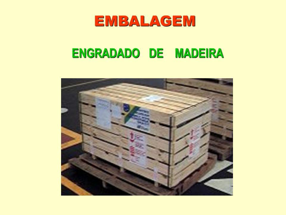 EMBALAGEM ENGRADADO DE MADEIRA