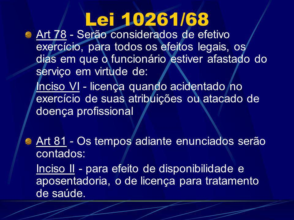 Lei 10261/68