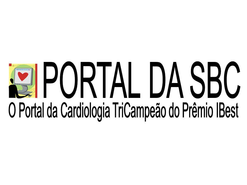 O Portal da Cardiologia TriCampeão do Prêmio IBest